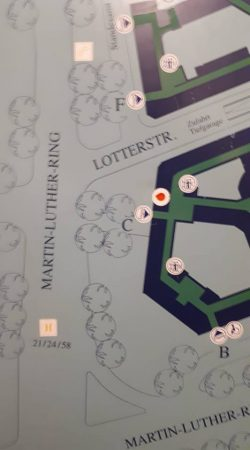 Lageplan Rathaus. Quelle: Dr. K. Placht