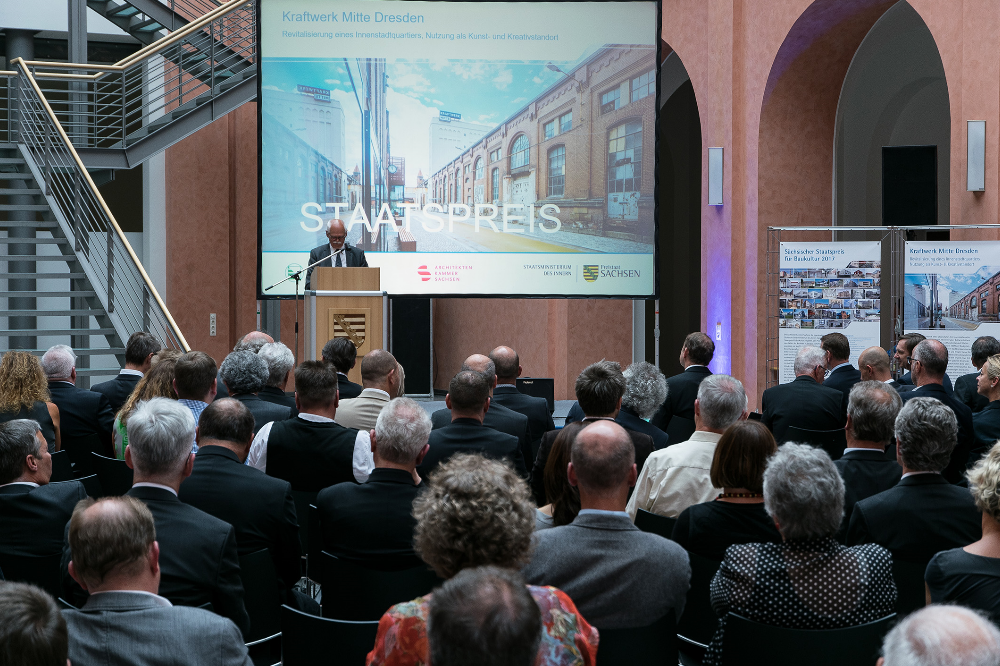 Verleihung Sächsischer Staatspreis für Baukultur 2017 Foto: Ingenieurkammer Sachsen
