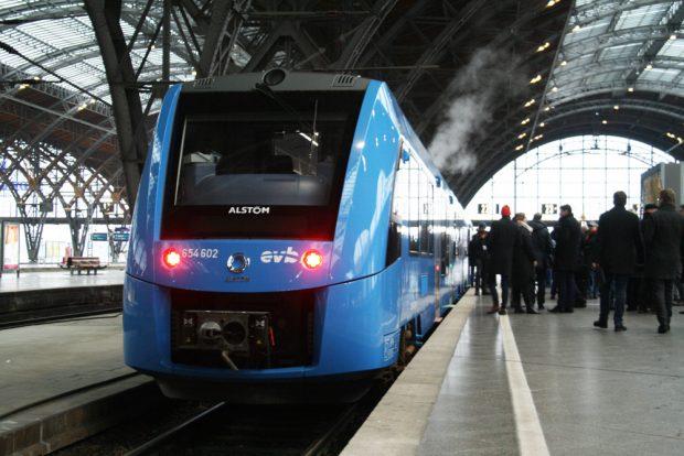 Alstom-Premierenfahrt in Leipzig. Foto: Ralf Julke