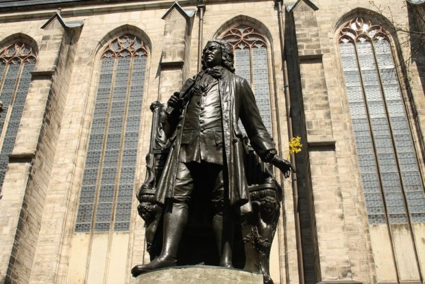 Der berühmte Hof-Compositeur Johann Sebastian Bach. Foto: Ralf Julke