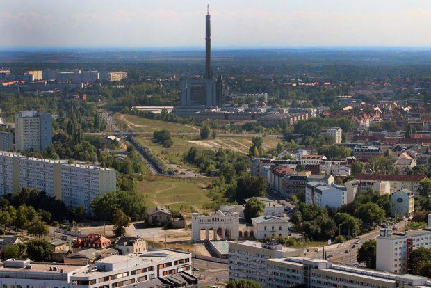 Das Gelände am Bayerischen Bahnhof. Foto: Stadt Leipzig