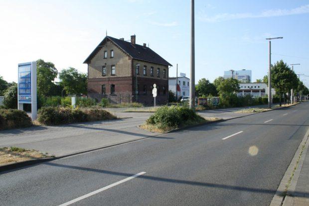 Das Gelände des ehemaligen Freiladebahnhofs an der Eutritzscher Straße. Foto: Ralf Julke