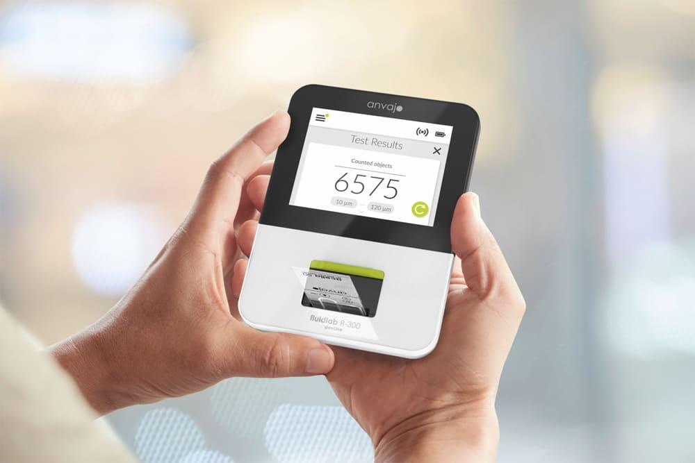 Konzept eines portablen, optischen Messgerätes, welches das neue Nachweisverfahren zur Bestimmung von Glyphosat quantitativ auslesen kann. Foto: anvajo.com