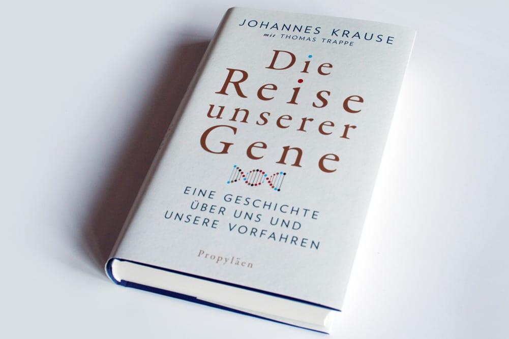 Johannes Krause, Thomas Trappe: Die Reise unserer Gene. Foto: Ralf Julke