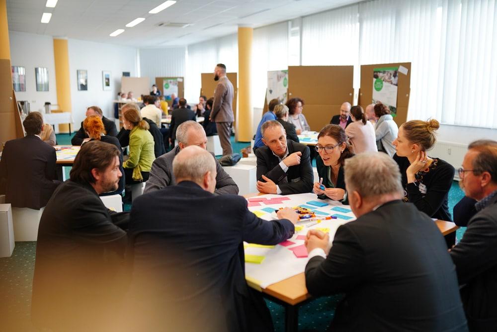 Mitteldeutscher Auftaktworkshop im Weinberg-Campus in Halle (Saale) am 7. Februar. Foto: Metropolregion Mitteldeutschland