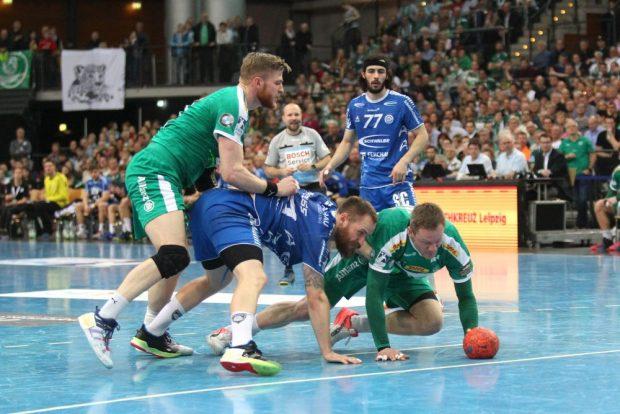 Kampf um jeden Ball. Foto: Jan Kaefer