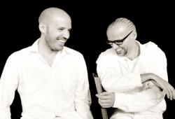 Christopher Von Deylen und ThomasD. Foto: Ben Wolf