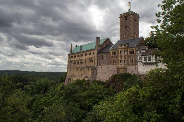 Die Wartburg in Eisenach. Foto: Pixabay / domeckopol