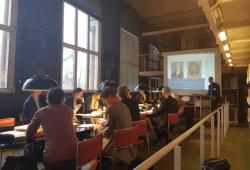 """Im Rahmen des Forschungsprojektes fand ein erster Workshop zum Thema """"Gelehrtenkarrieren vom Mittelalter bis ins 20. Jahrhundert: Datenanalyse und Forschungsperspektiven"""" im November 2017 an der Herzog August Bibliothek statt. Quelle: Herzog August Bibliothek Wolfenbüttel"""