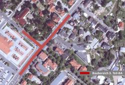 Fortsetzung Kanalbau Sachsenallee. Quelle: Stadtverwaltung Borna