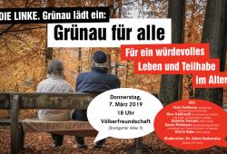 Forum Würdevolles Leben im Alter. Quelle: Sören Pellmann, MdB