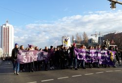 Demo am Internationalen Frauentag. Foto: René Loch