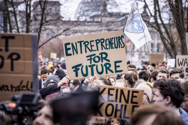 Auch die Unternehmer sind längst auf Klimakurs und teils weiter als die regierende Politik. Foto: UnternehmensGrün, Jörg Farys