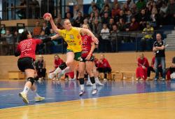 Lena Smolik in Aktion. Foto: Andre Funk