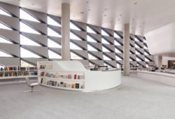 Museumslesesaal. Quelle: Deutsche Nationalbibliothek