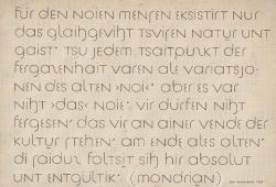 """Tafel zum """"versuch einer neuen schrift"""", 1929. Nachlass Jan Tschichold. Quelle: Deutsche Nationalbibliothek"""