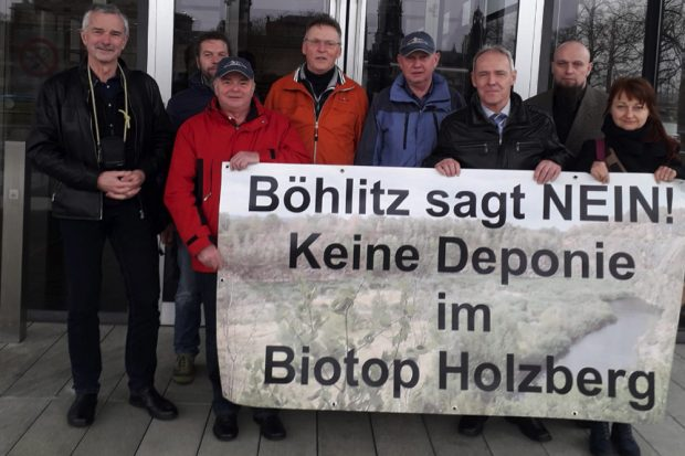 Mitglieder der Bürgerinitiative Böhlitz. Foto: BI Böhlitz