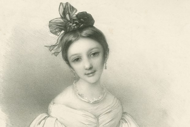 Eduard Fechner: Clara Wieck (1832). Foto: Robert-Schumann-Haus Zwickau