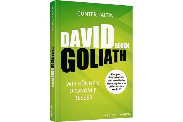 Günter Faltin: David gegen Goliath. Cover: Murmann / Haufe
