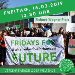 Das Plakat zur Demo am 15. März in voller Größe. Grafik: Fridays For Future Leipzig