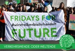 Das Plakat zur Demo am 15. März. Grafik: Fridays For Future Leipzig