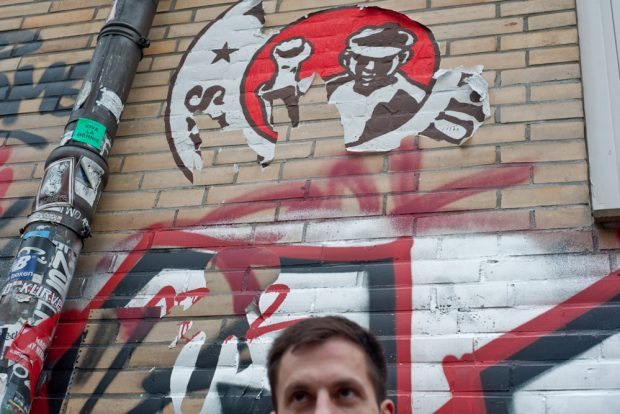"""Tino Gottschalk, Autor von """"Konfetti im Bier"""". Foto: Jenny Schäfer"""