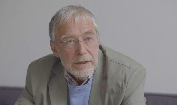Bild aus dem Interview mit Gerald Hüther. Foto: Ute Puder