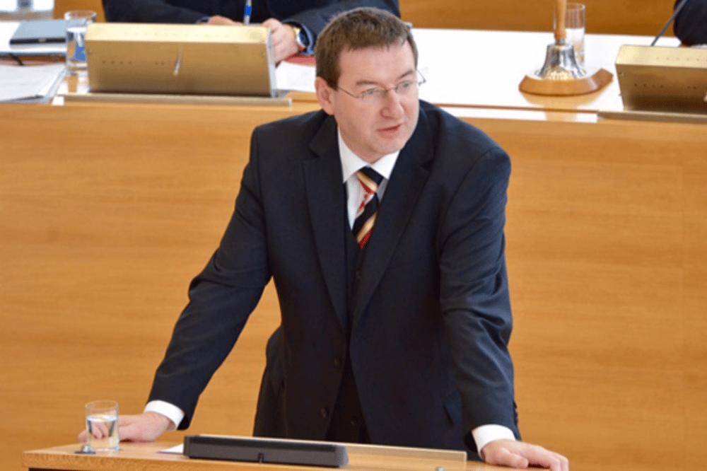 CDU-Finanzpolitiker Jens Michel. Foto: CDU-Fraktion des Sächsischen Landtages, Pascal Ziehm