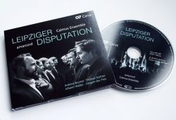 Amarcord, Calmus Ensemble: Leipziger Disputation. Foto: Ralf Julke