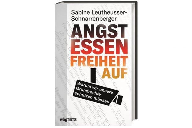 Sabine Leutheusser-Schnarrenberger: Angst essen Freiheit auf.Cover: WBG Verlag