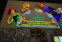 Die Löffelfamilie bei Nacht. Foto: Mathias Matzek / Peter Dorsch