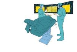 Grafik zur Forschungsarbeit im intelligenten Operationssaal des ICCAS, Foto: ICCAS