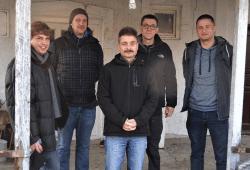 """Das Vereinsteam"" (v.l.n.r.): Michael Eichhorn, Maximilian Schöpe, Ralph Rüdiger, Robert Kießling, Ricky Burzlaff © vvf-international"