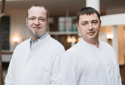 Chefärzte Ingmar Meinecke und Carsten Fischer. Foto: Christian Hüller