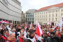 In Leipzig wollen am 1. Mai wieder zahlreiche Menschen auf die Straße gehen. Foto: L-IZ.de