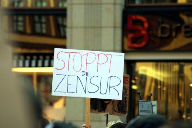 Der Zensurvorwurf - Youtube wird letztlich entscheiden, ob sie zum Einsatz kommen. Foto: L-IZ.de