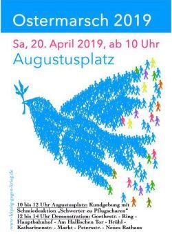 Flyer Ostermarsch 2019