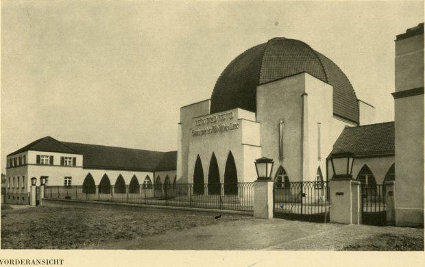 Die Frontansicht im Jahr 1932. Foto: Aus der Monografie von Max Reimann, 1932, Fotograf unbek.