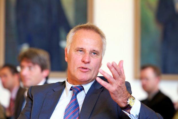 Fordert statt 427 Euro Bafög eine Erhöhung auf 500 bis 550 Euro im Monat. DSW-Generalsekretär Achim Meyer auf der Heyde. Foto: Kay Herschelmann