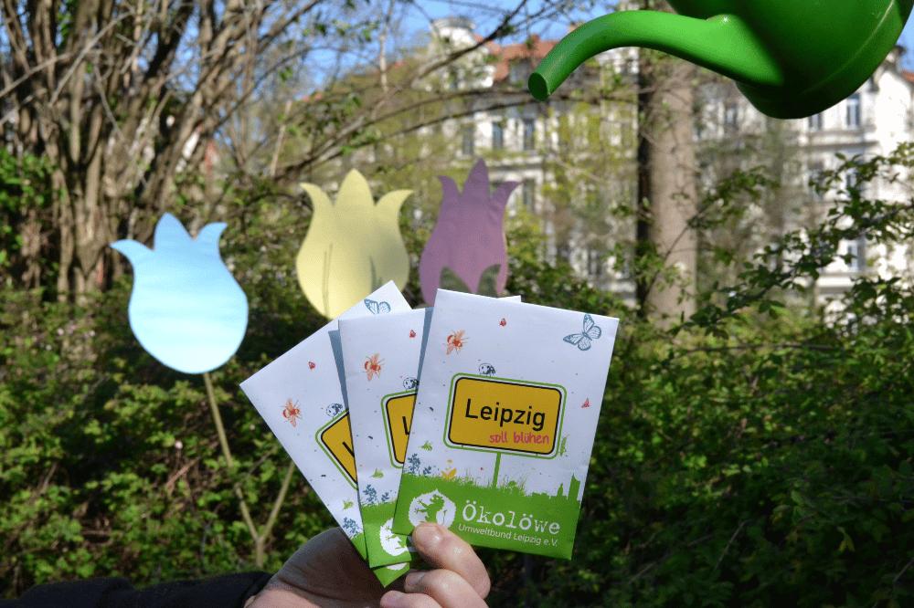 Leipzig soll blühen © Ökolöwe