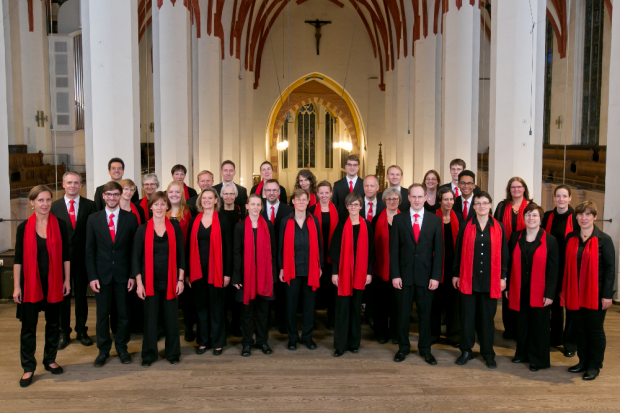 Leipziger Vocalensemble. Quelle: Büro für Kirchenmusik