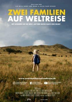 Filmplakat Zwei Familien auf Weltreise