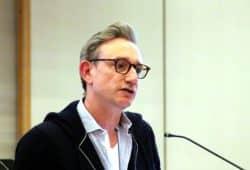 Tim Elschner (Grüne) am 17. April 2019 im Stadtrat. Foto: L-IZ.de