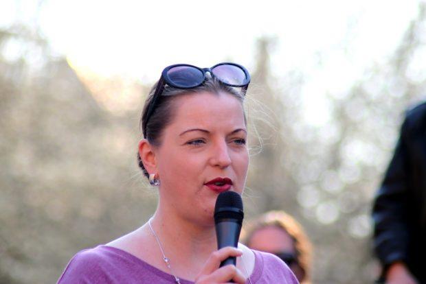 Ute Elisabeth Gabelmann (Piraten) vertrat hier und da kontroverse Positionen, wo sich die anderen Stadträte einig zu sein schienen. Foto: L-IZ.de