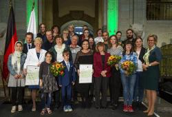 Verleihung des Generationenpreises. Pawel Sosnowski