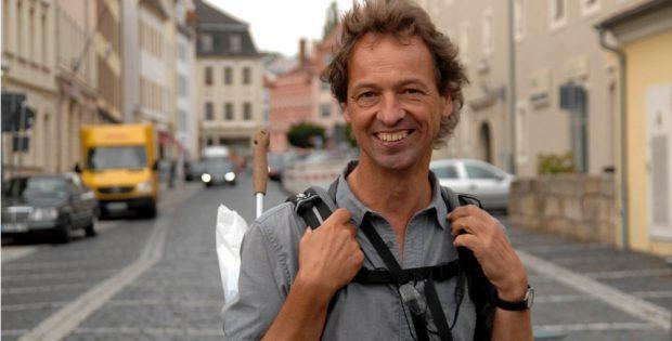 Wanderer und Geh-Forscher Bertram Weisshaar aus Leipzig. Foto: Thomas Eichler
