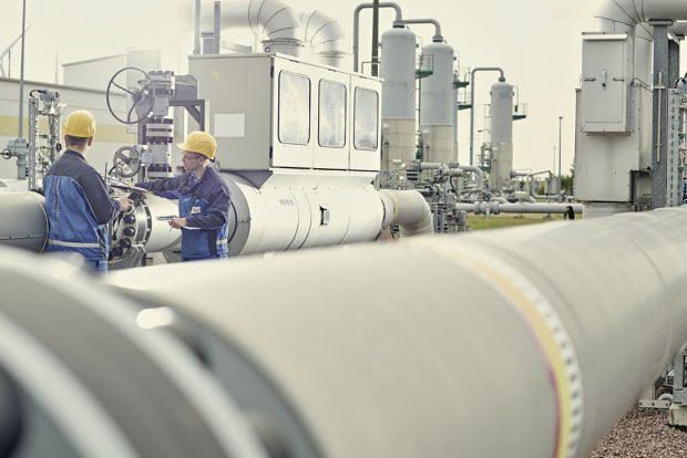 Gasdruckmess- und Regelstrecke Bad Lauchstädt. Foto: VNG Gasspeicher GmbH