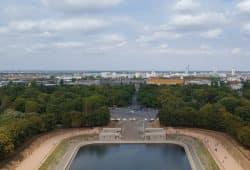 Blick auf Leipzig vom Völkerschlachtdenkmal aus. Foto: Marko Hofmann