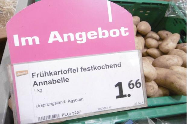 """Aufnahme aus einem """"denn's"""" in Berlin vom 17.04.2019. Foto: AbL"""