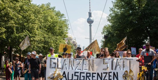 Demonstration der Vielen in Berlin. Foto: Die Vielen e.V.